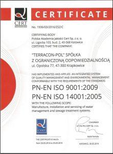 certyfikat na str